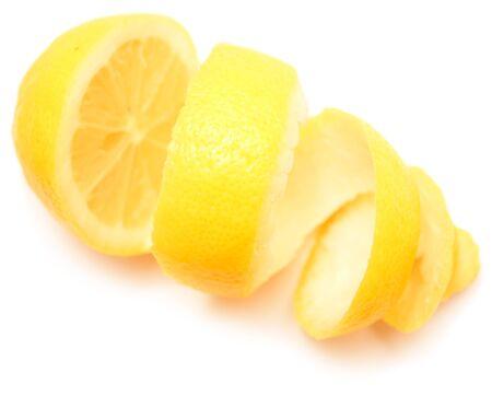 whitespace: Lemon isolated on white background Stock Photo
