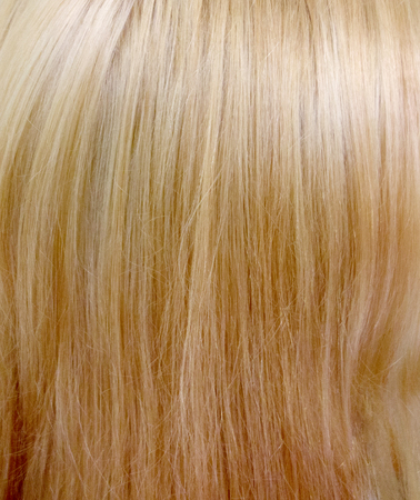 blond streaks: Blond Hair isolated on white Stock Photo