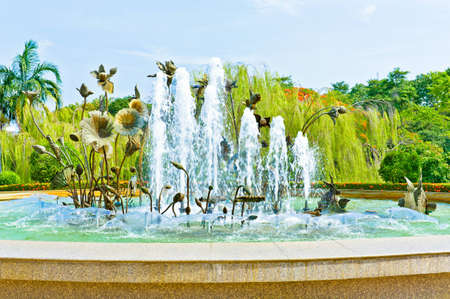 Exciteting fountain photo