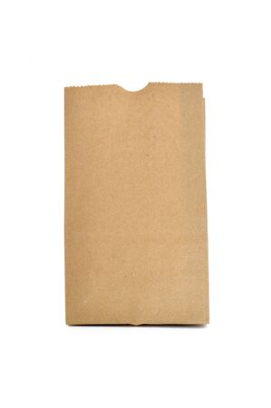 commercial recycling: This is Brown Bag.It a recycle material Stock Photo