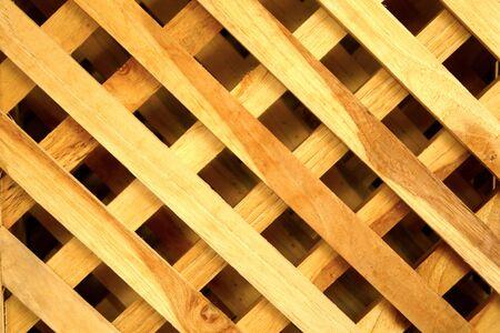 native Thai styel wood  wall   Stock Photo