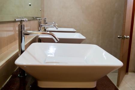 laver main: Main lavabo Banque d'images