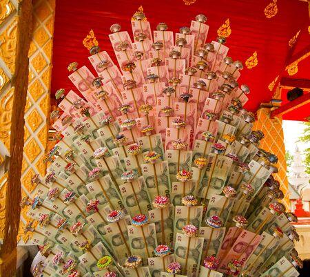 Close up of thai moneyl Stock Photo