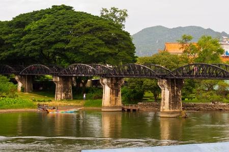 bridge crosses a river