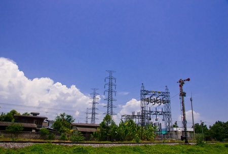 electric line photo