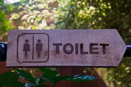 Toilet signs  photo