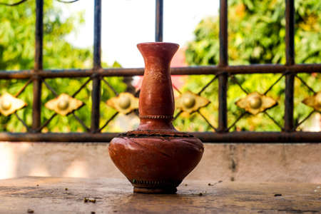 Pottery of Northern in Thailand,handmade Stock Photo