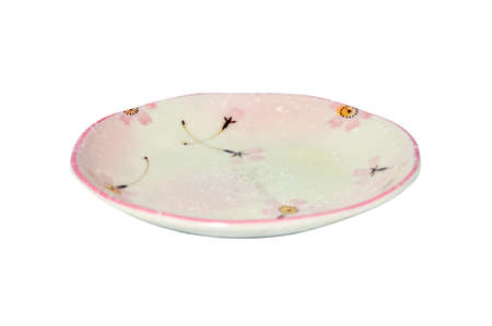 rosa japanische Gericht Lizenzfreie Bilder