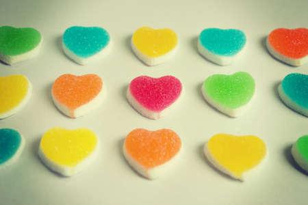 Hearts jelly
