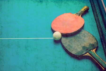 Tabletennis grunge background