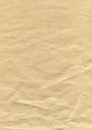Crump braunem Papier Hintergrund