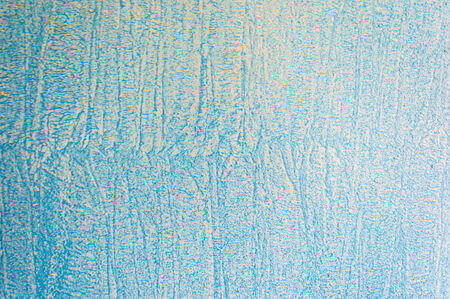 Wand mit blauen Farbe Hintergrund gemalt