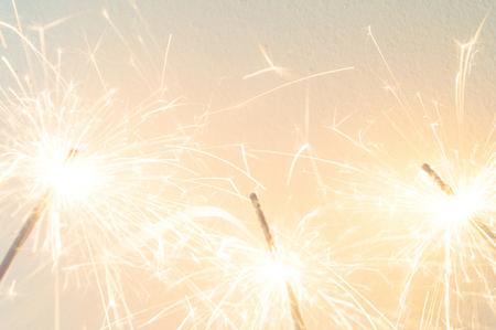 sparkler on the white background,holiday celebration background