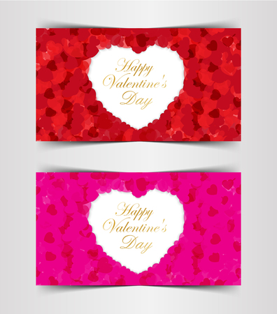 Design Template  Heart for Valentines Day Background,illustration EPS 10.