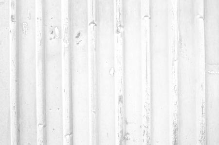 corrugation: white  metal grunge fence background