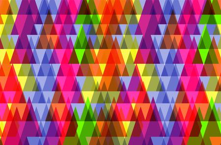 Muster der geometrischen shapes.Texture mit Fluss Spektrum Wirkung. Geometrische Hintergrund Illustration
