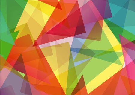 Muster der geometrischen shapes.Texture mit Fluss Spektrum Wirkung.