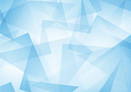 blau abstrakte Muster aus geometrischen Formen Textur. Geometrische Hintergrund