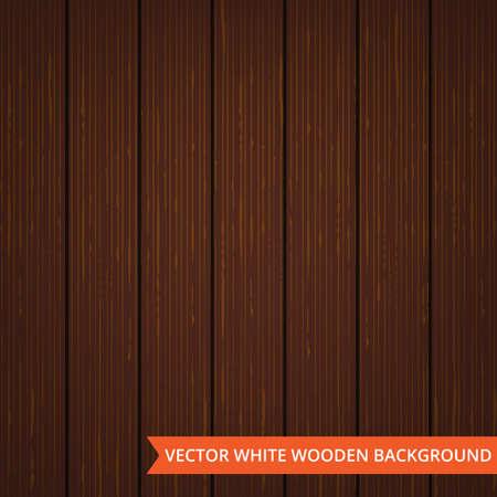 Vektor braun Holz Planken als Textur und Hintergrund mit Kopie Platz für Text. Illustration