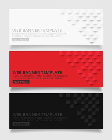 Weißer roter und schwarzer quadratischer geometrischer Beschaffenheitshintergrund Abstrakte quadratische geometrische Beschaffenheit Banner-Hintergrundwebdesign für infographics Geschäftsfinanzierung.