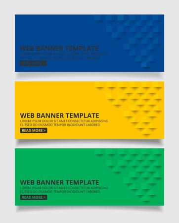 Blau gelb und grün quadrat geometrischen Textur Hintergrund Zusammenfassung quadratisch geometrischen texture.banner Hintergrund Web-Design für Infografiken Business Finance.