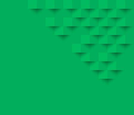 grüne quadrat geometrische textur hintergrund Abstrakt quadrat geometrisch texture.banner hintergrund web design für infografics business finance.
