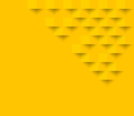 Gelbe quadratische geometrische Textur Hintergrund Abstrakt Quadrat geometrischen texture.banner Hintergrund Web-Design für Infografiken Business Finance.