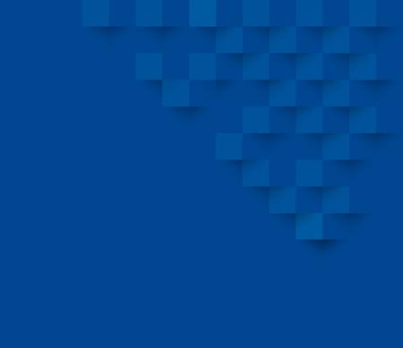 Blaue quadratische geometrische Textur Hintergrund Abstrakt Quadrat geometrischen texture.banner Hintergrund Web-Design für Infografiken Business Finance.
