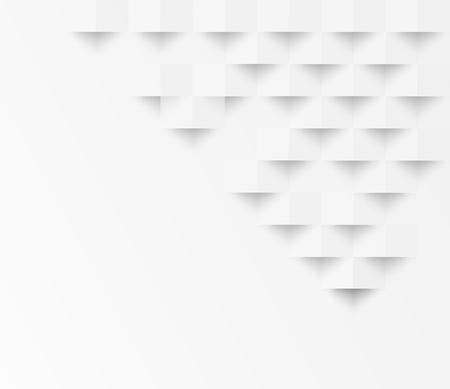 weißen quadratischen geometrischen Textur Hintergrund Zusammenfassung quadratischen geometrischen texture.banner Hintergrund Web-Design für Infografiken Business Finance. Illustration