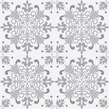 fill in: seamless pattern background in grey. Repeating geometric tiles for wallpapers, backgrounds and page fill  and more. Illustration