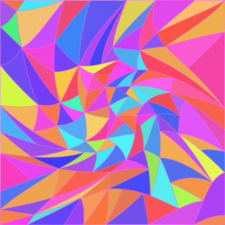 Vector 3d effect abstract pattern. Optical illusion. Illustration