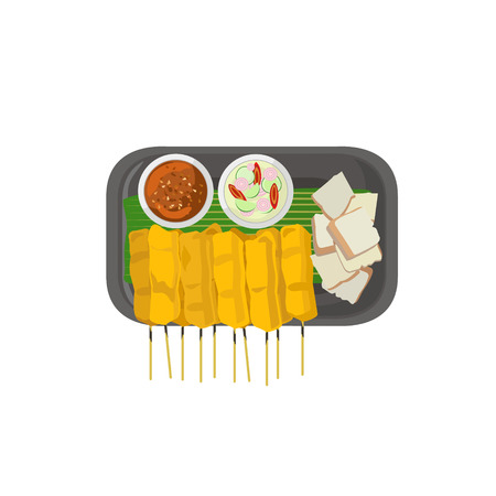 food art: Thai food vector illustration cartoon Illustration