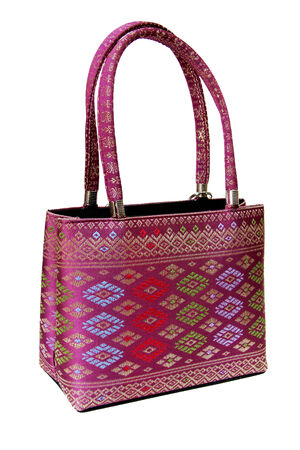 embroidered: Oriental embroidered handbag