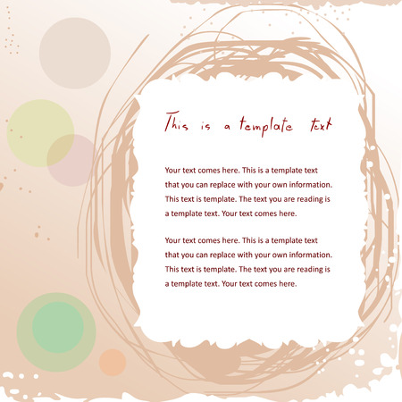 csinos doodle évjárat keret absztrakt háttér copyspace a szöveg