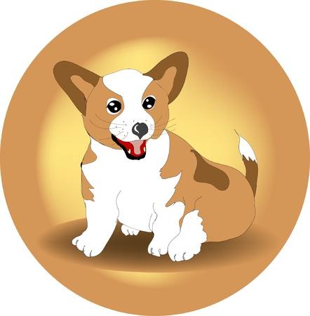 Pet dog Vector