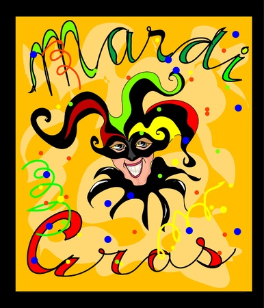 gras: Mardi Gras Illustration