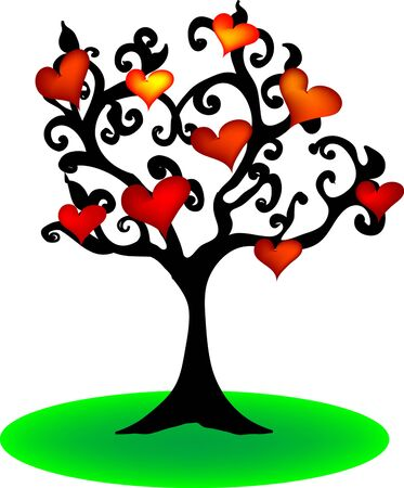stylize: Love Tree Illustration