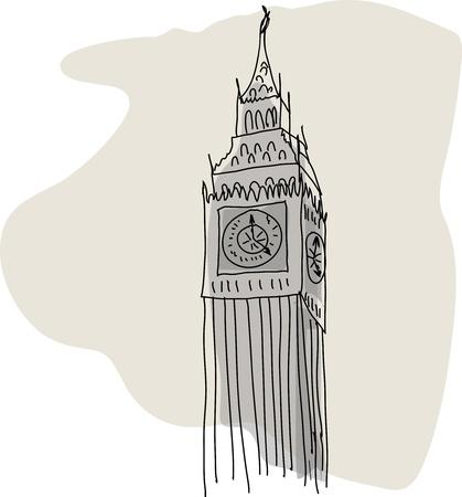 bigben: Big Ben Illustration