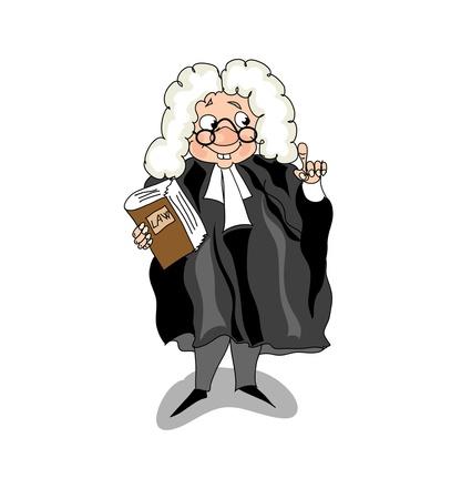 Lawyer Vektoros illusztráció