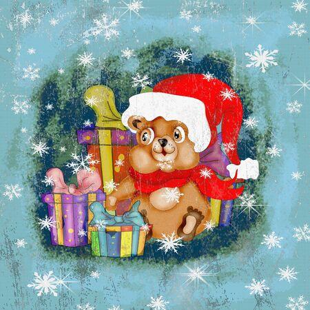 Santa Teddy photo