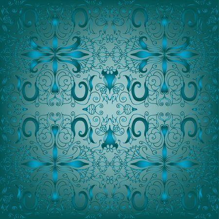 Damask seamless pattern Stock Vector - 17373359