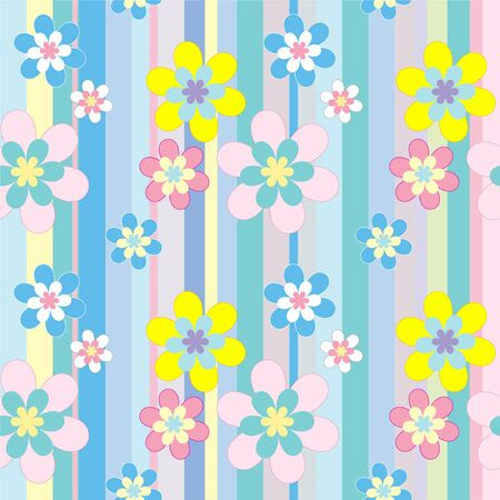 Spring seamless pattern Vector