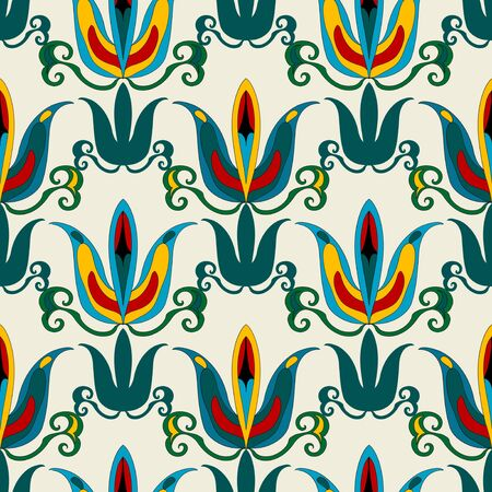 Floral seamless pattern Stock Vector - 18055797