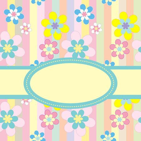 Easter greeting card Vector