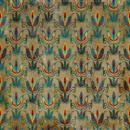 Royal grunge pattern Stock Photo - 18274225