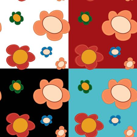 Floral seamless pattern Stock Vector - 18289030