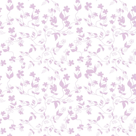 Spring seamless floral pattern Stock Vector - 18293088