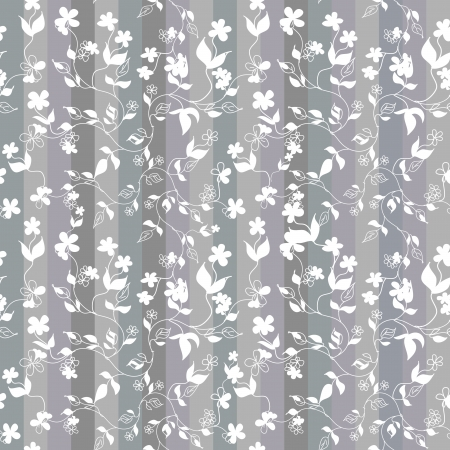 Floral seamless pattern Stock Vector - 18521213