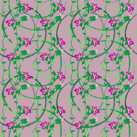 Floral seamless pattern Stock Vector - 18599496