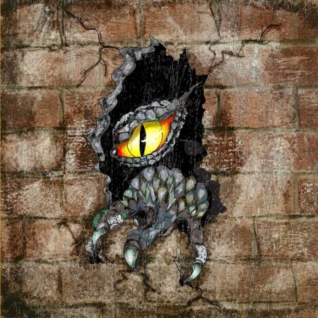 spooky eyes: Dragon eye